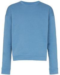 The Elder Statesman - Sweatshirt mit rundem Ausschnitt - Lyst