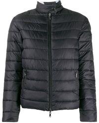 Emporio Armani Reversible Padded Jacket - Black
