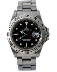 Rolex Наручные Часы Explorer Ii Pre-owned 40 Мм 1985-го Года - Черный