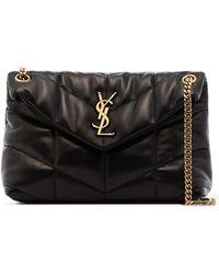 Saint Laurent - Small Loulou Puffer Shoulder Bag - Lyst