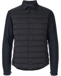 Herno - Padded Front Coat - Lyst