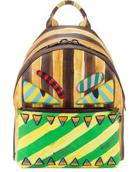 Fendi Marker-style Printed Backpack - Multicolour