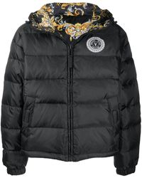 Versace Jeans Couture Puffer Coat - Black