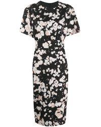 Boutique Moschino フローラル ドレス - ブラック