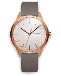 Uniform Wares Reloj C40 Chronograph - Gris