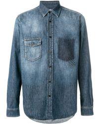 Saint Laurent - Classic Denim Shirt - Lyst