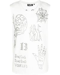 Haculla ロゴ タンクトップ - ホワイト