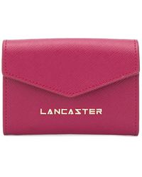 Lancaster Envelope Logo Wallet - Red