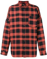 Palm Angels - Checked Shirt - Lyst