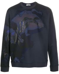 Valentino Dragons Garden スウェットシャツ - ブルー