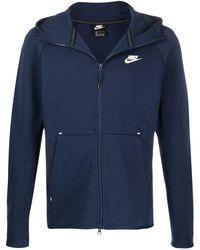 Nike Sportjacke mit Reißverschluss - Blau