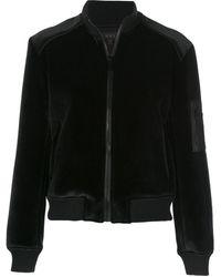 Alala ボンバージャケット - ブラック