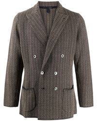 Lardini Relaxed Fit Blazer - Grey