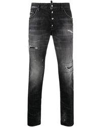 DSquared² Gerafelde Jeans - Meerkleurig