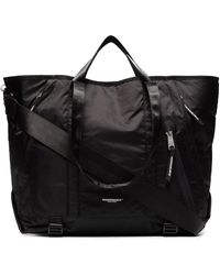 Indispensable 2way Nylon Tote Bag - Black