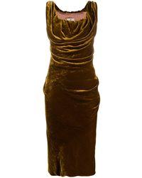 Vivienne Westwood カウルネック ドレス - マルチカラー