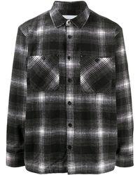 Carhartt WIP チェック シャツ - ブラック