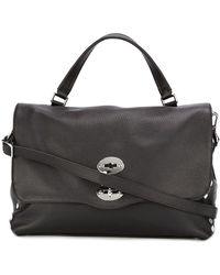 Zanellato Studded Tote Bag - Черный