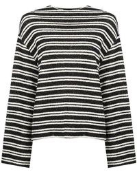 Osklen - Double Striped Knitted Top - Lyst