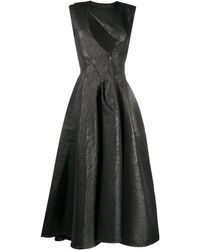 Maticevski Luther カットアウトドレス - ブラック