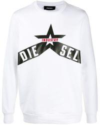 DIESEL Industry スウェットシャツ - マルチカラー