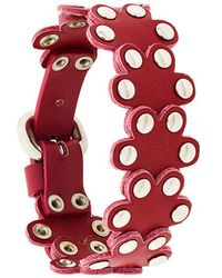 RED Valentino - Studded Flower Cuff - Lyst
