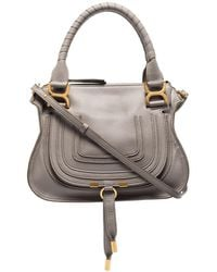 Chloé Marcie Leather Tote Bag - マルチカラー