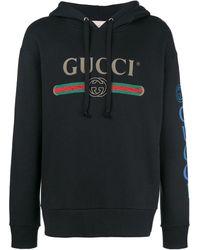 Gucci Sudadera con capucha - Negro