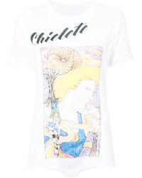 Neith Nyer - Body estilo camiseta Chicete - Lyst