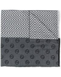 Giorgio Armani - マルチパターン スカーフ - Lyst