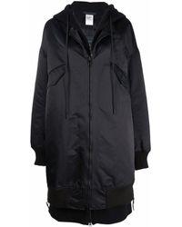 Yohji Yamamoto Oversized Zip Coat - Black