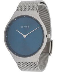 Bering Milanese Strap Watch - Metallic