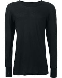 Boris Bidjan Saberi 11 - 'Richard' Long Sleeve T-Shirt - Lyst