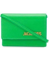 Jacquemus Сумка Через Плечо The Bello - Зеленый