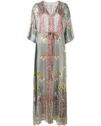 Temperley London Beaumont Kaftan Dress - Green