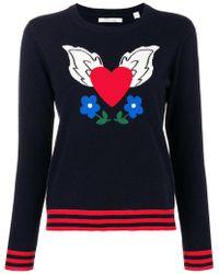 Chinti & Parker - Cashmere Juliet Intarsia Sweater - Lyst