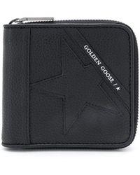 Golden Goose Deluxe Brand Star 財布 - ブラック