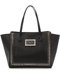 Philipp Plein Large Stud-embellished Tote Bag - Black