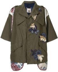 Antonio Marras - Embroidered Military Jacket - Lyst