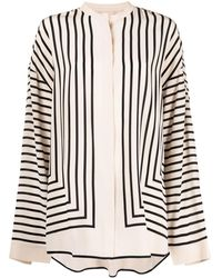 Totême Stripe-print Tunic - Multicolour