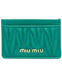 Miu Miu - マテラッセ カードケース - Lyst