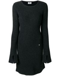 Sonia by Sonia Rykiel - Long Sleeved Knitted Dress - Lyst