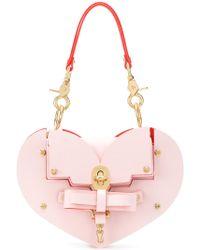 Niels Peeraer Heart Turn-lock Handbag - Pink