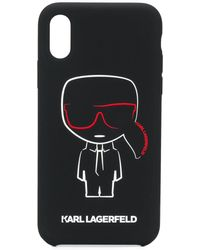 Karl Lagerfeld - Coque d'iPhone X/XS Karl Ikonik Outline - Lyst