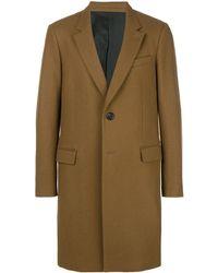 AMI Mantel mit zwei Knöpfen - Braun