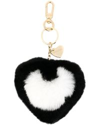 Twin Set - Heart Bag Charm - Lyst
