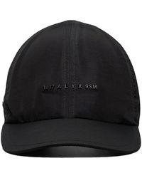 1017 ALYX 9SM ロゴ キャップ - ブラック