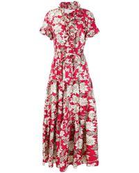 LaDoubleJ - Lilium Printed Dress - Lyst