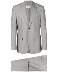 Maison Margiela - Micro Houndstooth Check Suit - Lyst