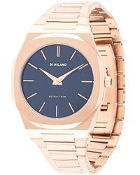 D1 Milano Ultra Thin Watch - Metallic